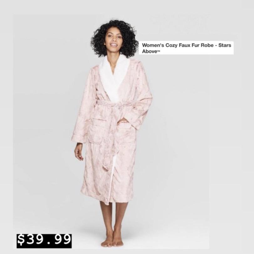 Cozy Faux Fur Robe