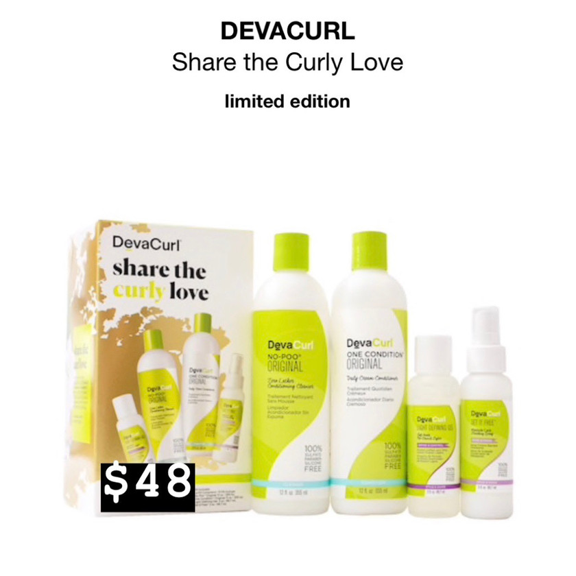 DevaCurl- Share The Curly Love