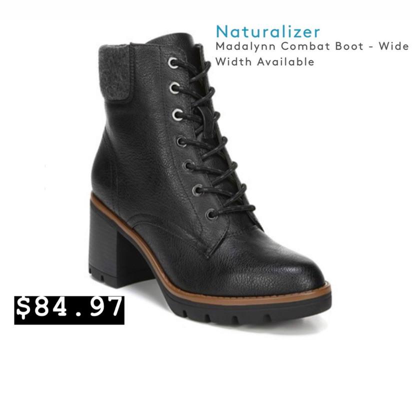 Naturalizer-Madalynn Combat Boot