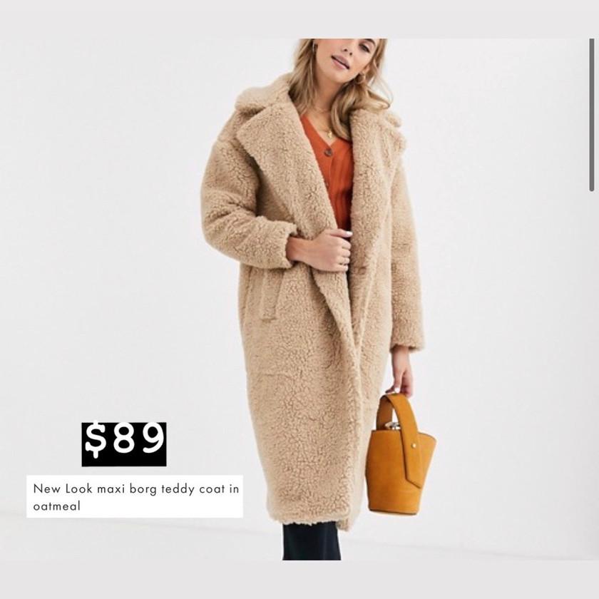 ASOS- Teddy Coat