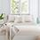 Thumbnail: Linen Stripe Natural Decorative Pillow