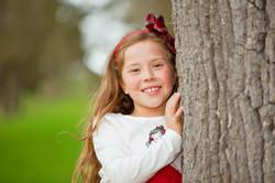 Holiday child photos