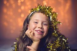 Holiday kid photography