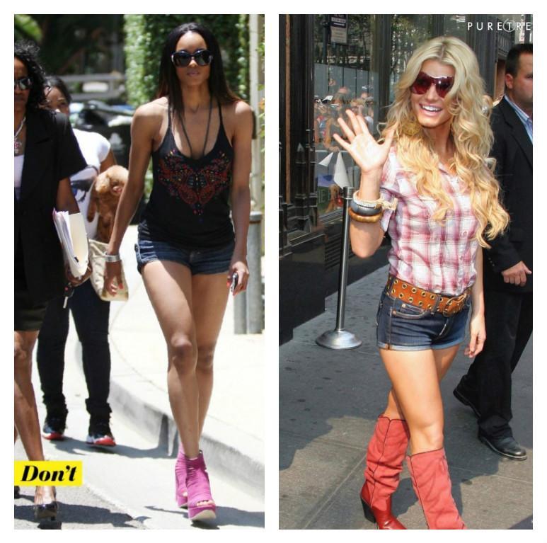 fashion faux pas short