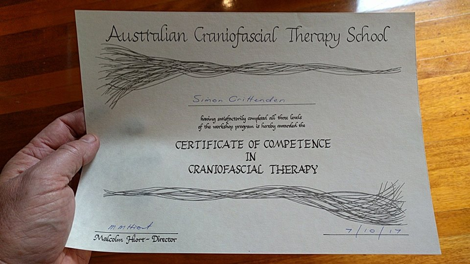 Craniofascial Therapy Certificate