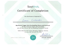 Dry Needling Certificate
