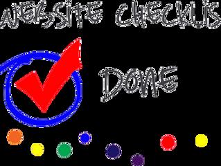 Creating a Website Agenda