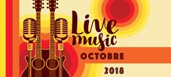 octobre 2018 music live