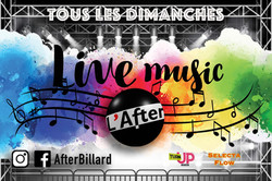 after live music