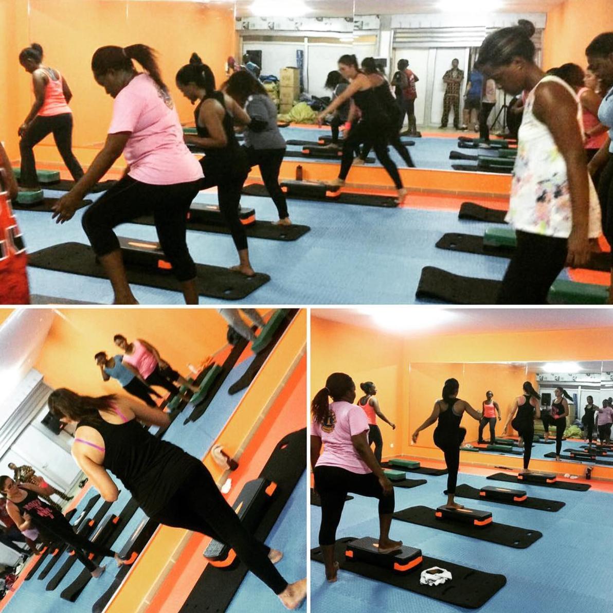 MoovOn Fitness Class