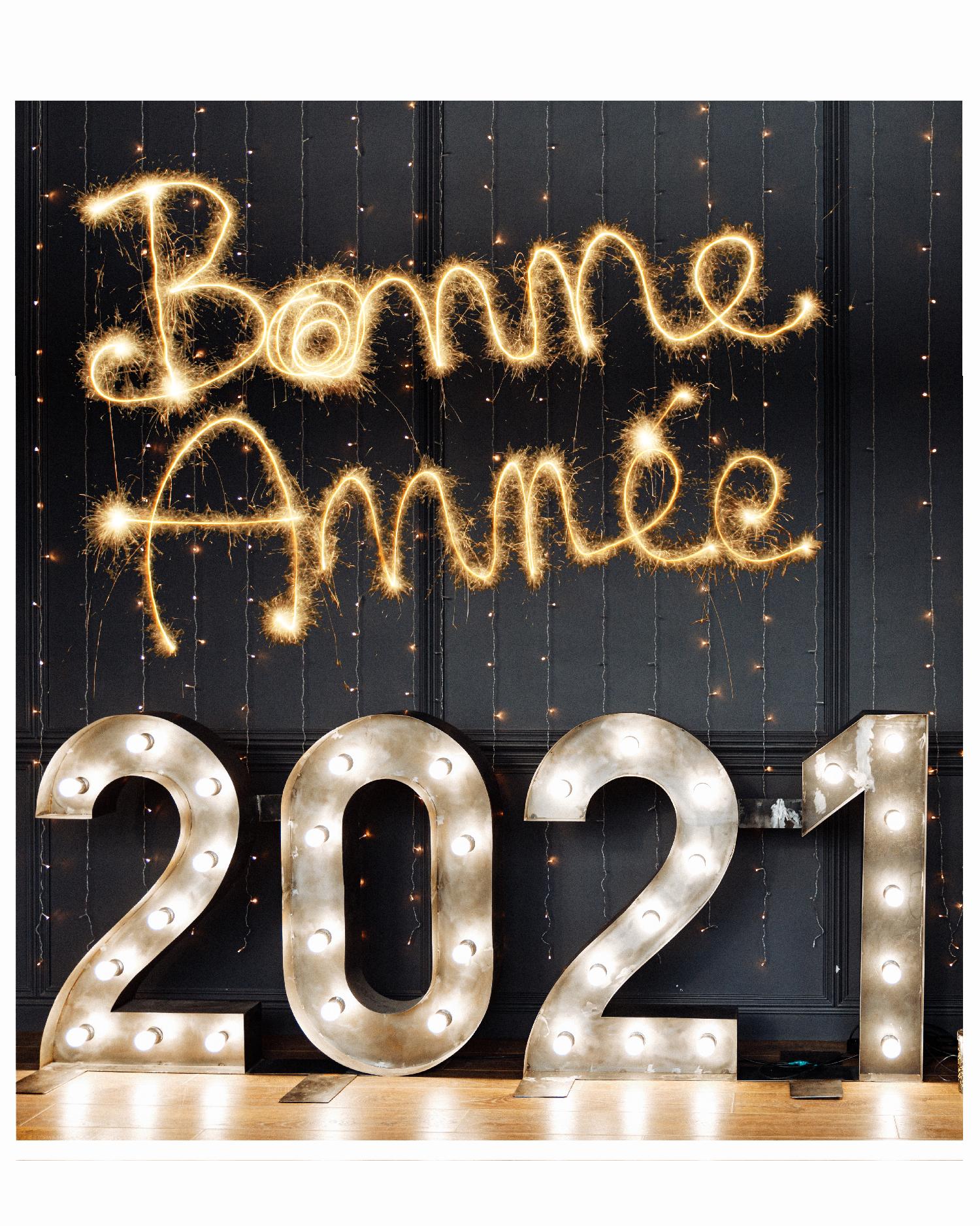 bonne année website new