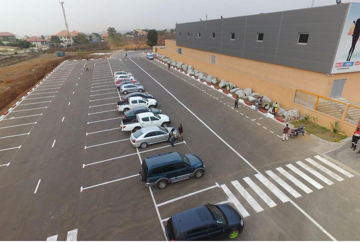 Parking Hypermarché