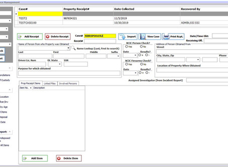 Featured Module:  InterOp Evidence Management