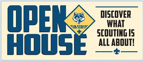 Open House, September 2017, Cub Scout Pa