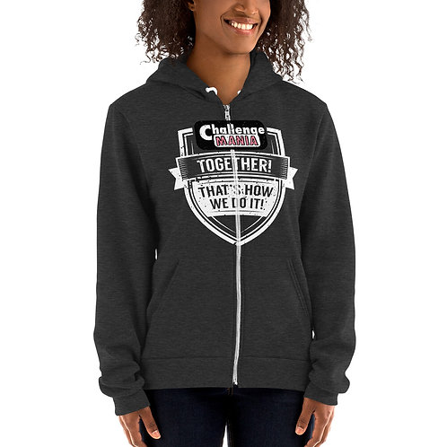 Hoodie sweater - Unisex size – women may prefer to order one size smaller
