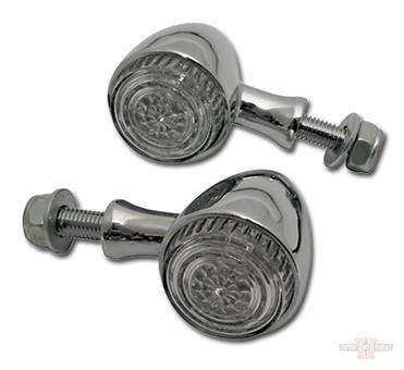 LED Taillight / Turnsignal COLORADO, chrome