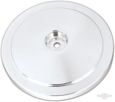 Domed Bobber Air Cleaner Cover, Chrome