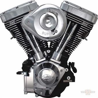 "124"" Super Stock Engine, Black"