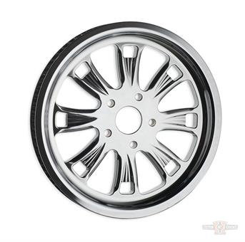 """Pulley, Super Charger 1.5"""", 65-Tooth Chrome"""
