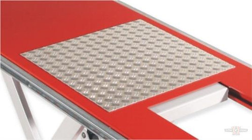 Aluminum chequered plate for EH 600