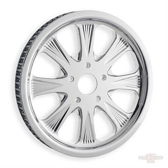 """Pulley, Sinister 8 1.0"""", 66-Tooth Chrome"""