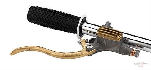Kustom Tech Master Cylinder 14 mm Raw Aluminium & Raw Brass