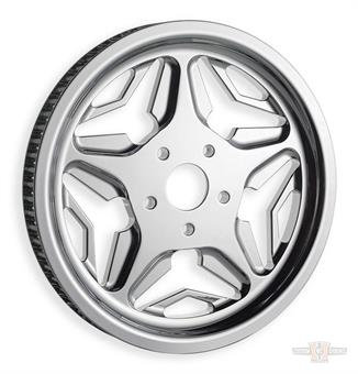 """Pulley, Speed Star 1.125"""", 70-Tooth Chrome"""