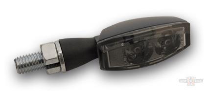 LED Turnsignal BLAZE, black, smoked lens