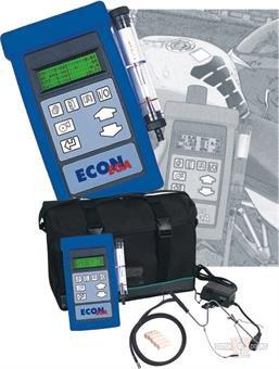 Exhaust gas analyser AUK ECON EGA 4 Gas-Test device