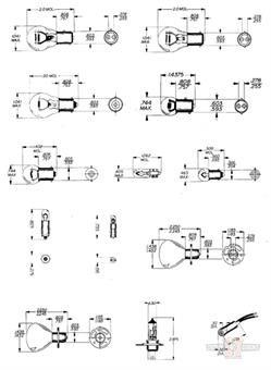 Marker Bulb 12V-8W Single Filament