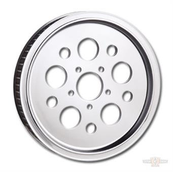 "Chrome Super Spoke Pulley 1"" x 68 -Tooth"