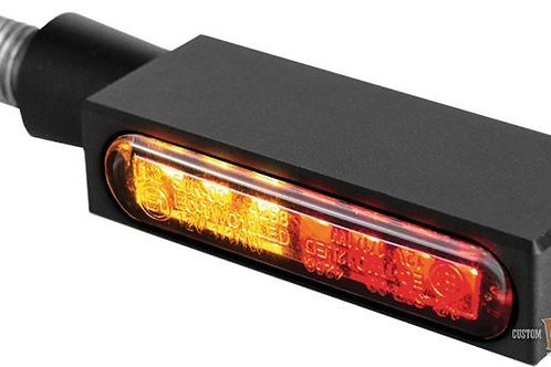 BLOKK-Line Series 3in1 LED Turn Signal/Taillight/Brake Light, Black