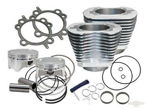 107 cui big bore kit, silver