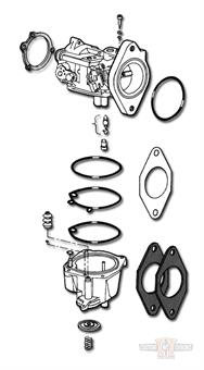 Keihin Carburetor Rebuilt Kit
