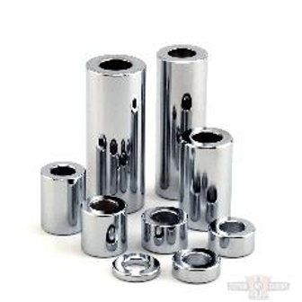 1/4 X 1 CHROME SPACER