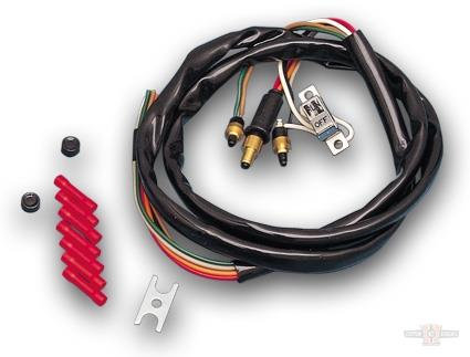 Chrome Right Handlebar Wire Harness