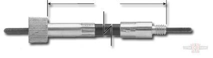 Speedo Cable, Black