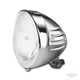 """5-3/4"""" Headlight With Ribs & Visor"""