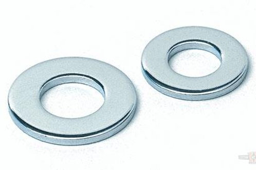 "1/4"" STAINLESS STEEL FLATWASHER"