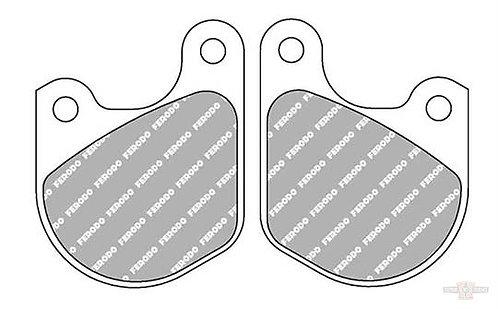 Brake Pad OEM Caliper Front, Organic PRP-Compound