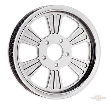 """Pulley, Dominator-6 1.25"""", 70-Tooth Chrome"""