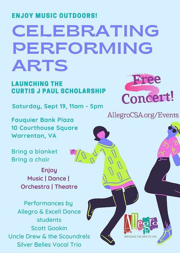 Outdoor Concert Park Fundraiser Flyer (1
