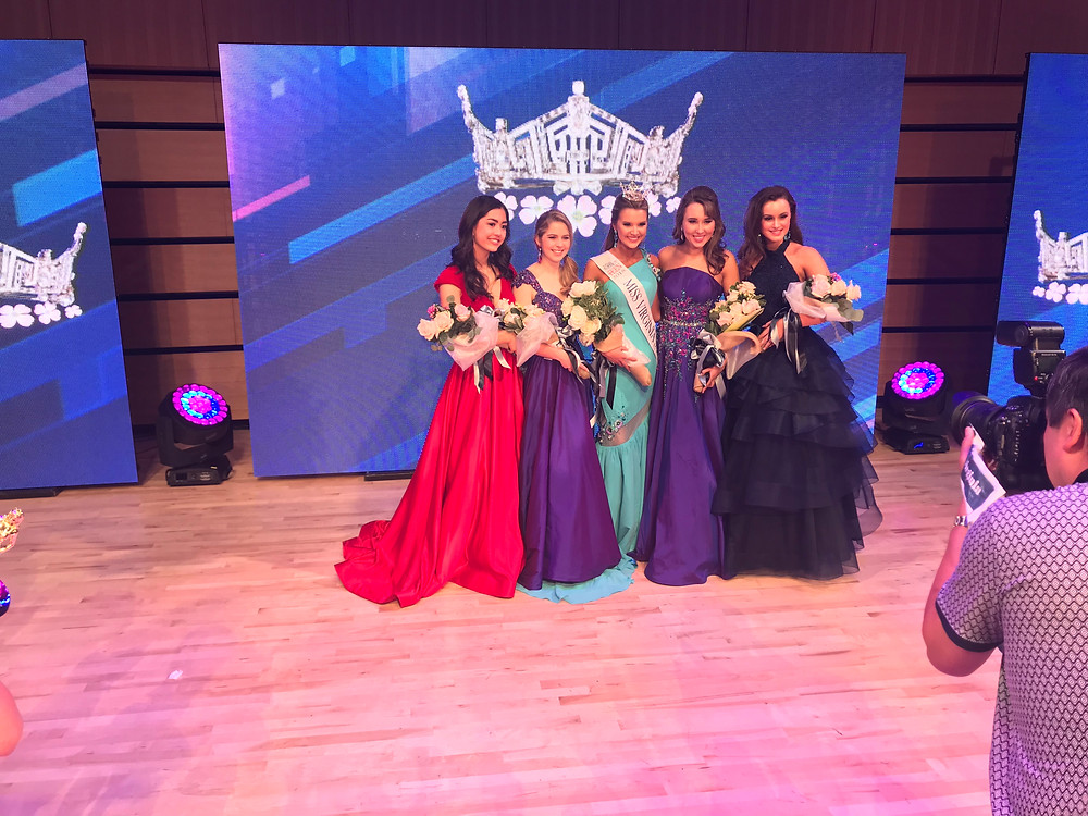 Finalists of pageant