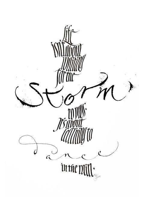 """Postkarte """"Storm"""""""