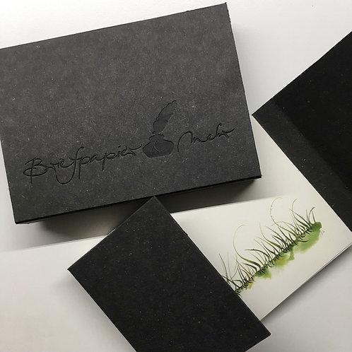 Postkarten-Set in Schiebeschachtel