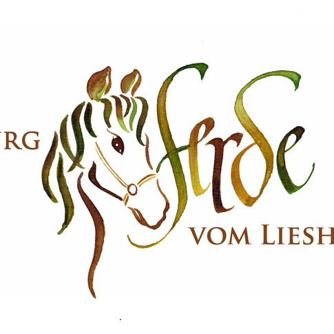 Logo-Design für einen Pferdehof