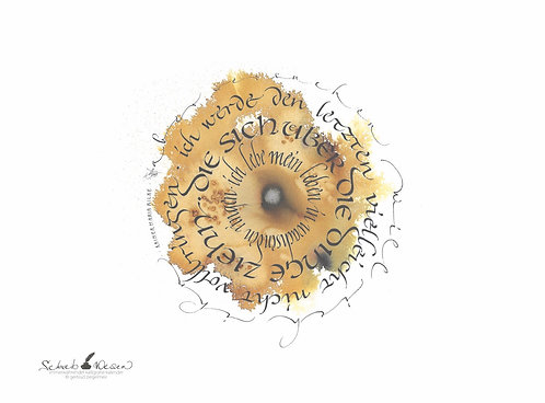 Kalligrafie-Kalender 2020, immerwährend