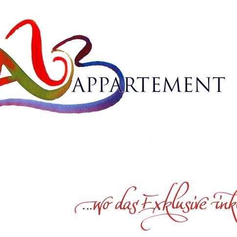 Logo-Design für ein exklusives Appartementhaus auf der Schwäbischen Alb