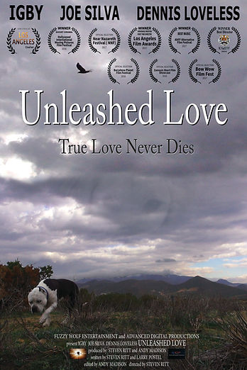 "Poster From Award Winnning Dog Film ""Unleashed Love"""