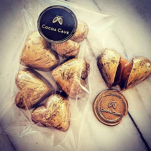 Sea Salted Caramel Hearts
